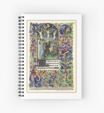 Illuminated New Testaments Christ's Crucifixion Spiral Notebook