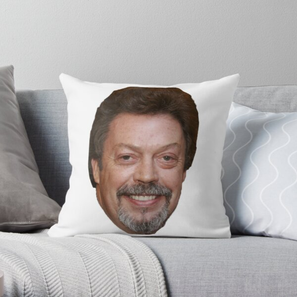 Tim Curry Throw Pillow