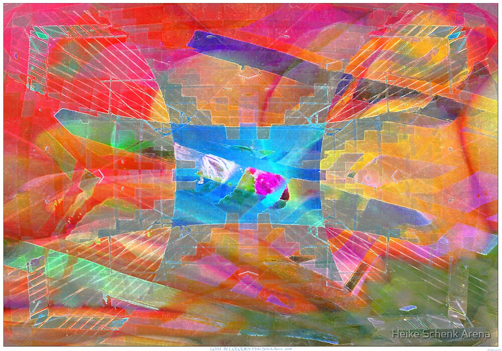 Lost in colours by Heike Schenk Arena