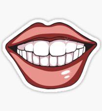 Sexy Lips Smilling Sticker