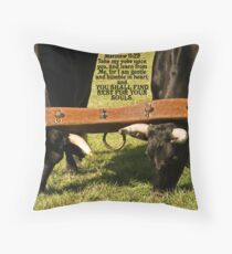 ~ Matthew 11:30 ~ For My yoke is easy, and My load is light ~ Throw Pillow