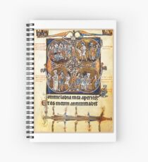 Illuminated New Testaments Judgment of Christ Spiral Notebook