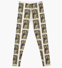 Illuminated New Testaments Nativity Scene Leggings