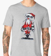 Vintage Drunken Santa Claus Men's Premium T-Shirt