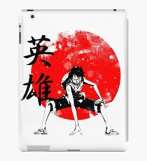 Pirate Hero (Kanji) iPad Case/Skin