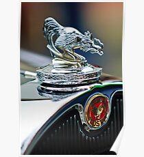 1931 A A Roadster Hood Ornament -1975c Poster