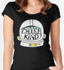 Choose Kind Choose Kindness Women's Fitted Scoop T-Shirt