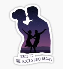The fools Sticker