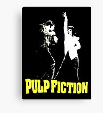 The Vintage Mystery Pulp Fiction Canvas Print