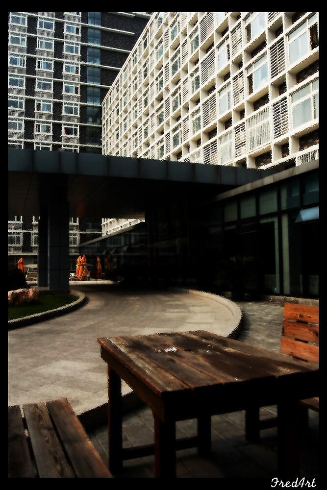 My dorm by Frederick Tanjaya