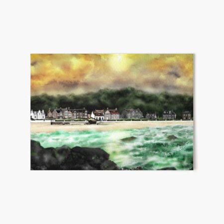 Millport Shore-Front, Isle of Cumbrae, West Coast of Scotland [2] Art Board Print