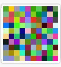 Color Squares 11 Sticker