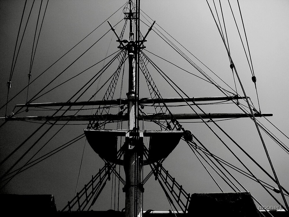 Tall Ship Rigging (3) by mooner1