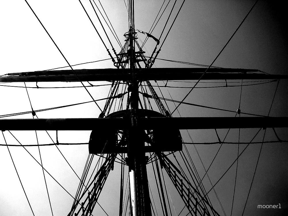 Tall Ship Rigging (2) by mooner1