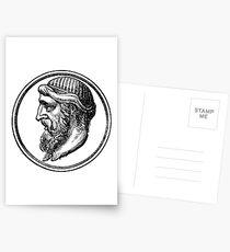Philosopher Series - Plato Postcards