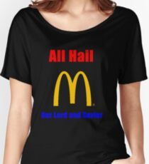 All Hail the big M Women's Relaxed Fit T-Shirt