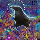 Noisy Raven by Madara Mason