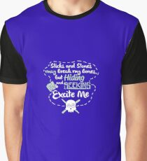 Hiding and seeking excite me Graphic T-Shirt
