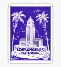 1935 Los Angeles City Hall Sticker