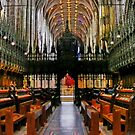 The Nave of Chester Anglican Cathedral UK, by AnnDixon