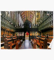 The Nave of Chester Anglican Cathedral UK, Poster