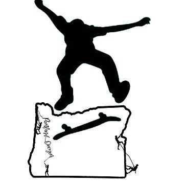 Kick Flip Oregon by Eyedeology