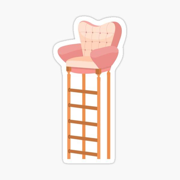 A (very) High Chair Sticker