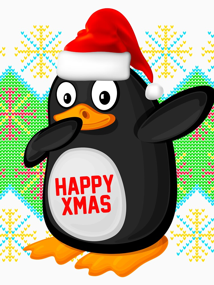 Dabbing penguin Dabbing santa hats by bestdesign4u