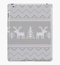 ugly xmas knit iPad Case/Skin