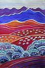 Pastels - Flinders With Red by Georgie Sharp