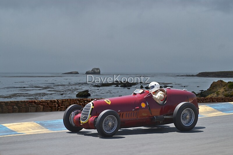 1935 alpha romeo 8c 35 gran prix racer greeting cards postcards by davekoontz redbubble. Black Bedroom Furniture Sets. Home Design Ideas