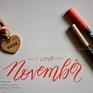 I LOVE NOVEMBER by Kamaljeet Kaur