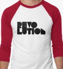revolution Men's Baseball ¾ T-Shirt