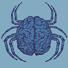 Blue Brain Bug by Oddesign