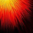 Fiery sun by cardwellandink