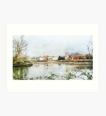 From the other side of the river Art Print
