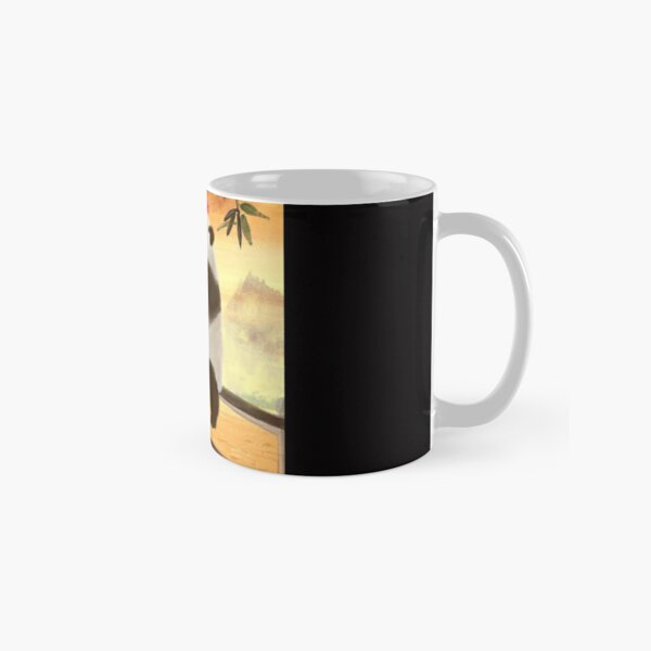 hungry panda Classic Mug