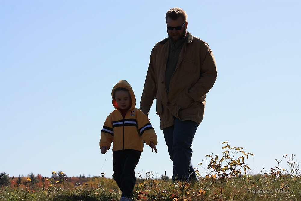 Father and Son by Rebecca Brann
