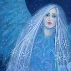 """Metelitsa"", Snow Maiden, Snegurochka, fantasy art, winter &  New Year by clipsocallipso"