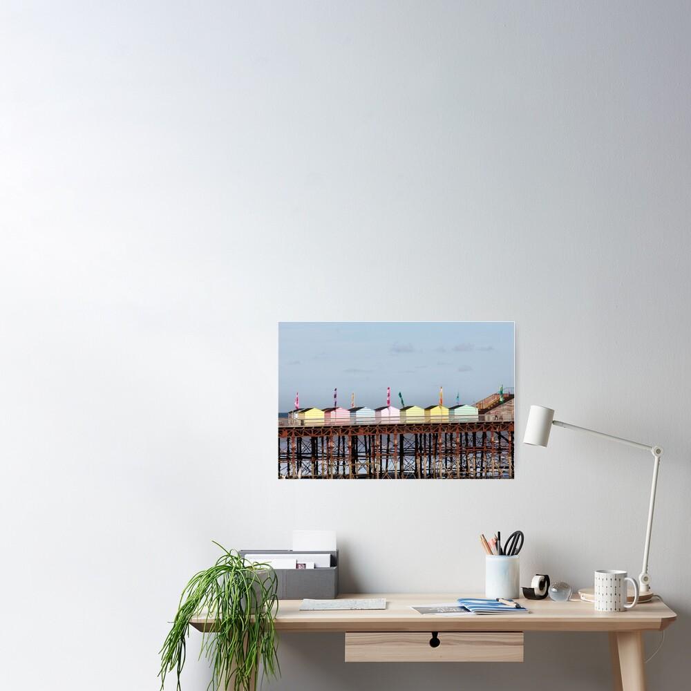 Hastings Pier ausgezeichnet Poster