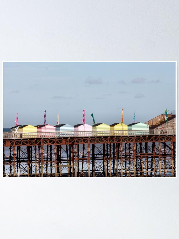 Alternative Ansicht von Hastings Pier ausgezeichnet Poster