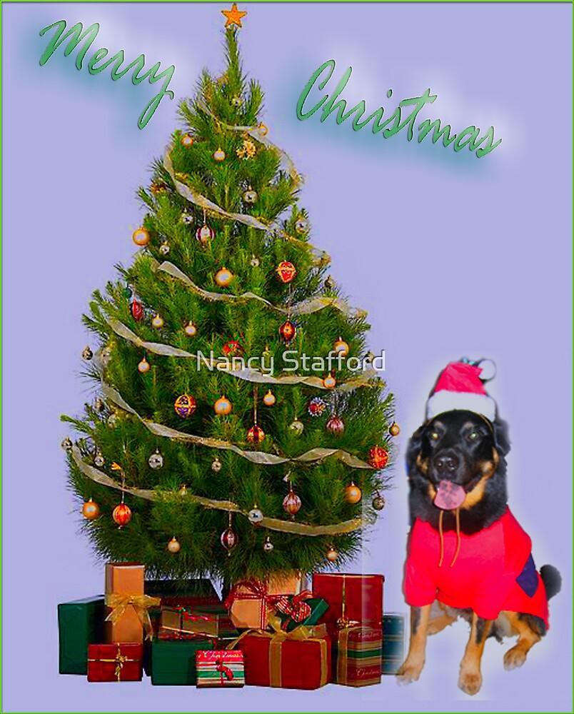 Christmas Dog by Nancy Stafford