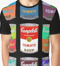 Andy Warhol Campbell's soup cans Graphic T-Shirt