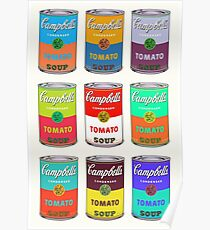 Andy Warhol Campbell's soup cans Poster