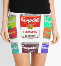 Andy Warhol Campbell's Suppendosen Minirock