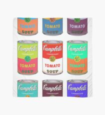 Andy Warhol Campbell's soup cans Scarf