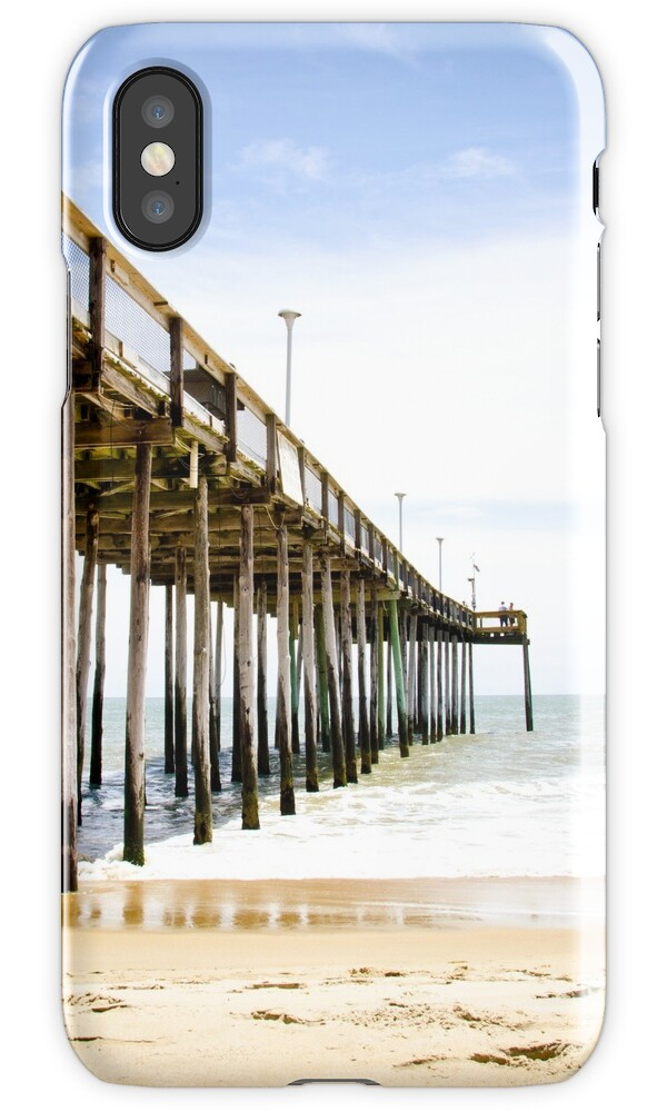 Fishing pier ocean city maryland iphone cases for Ocean city md fishing pier
