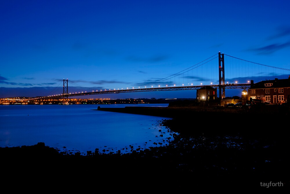 The Forth Road Bridge, North Queensferry, Scotland by tayforth