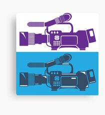 Video Camera Canvas Print