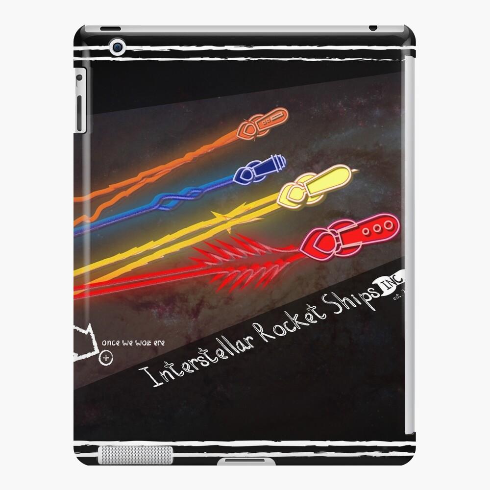 Interstellar Rocket Ships inc. Badge iPad Case & Skin
